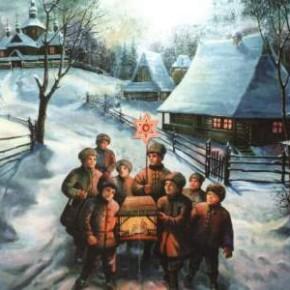 Колядки 2013 с Рождеством Христовым прикольные и веселые
