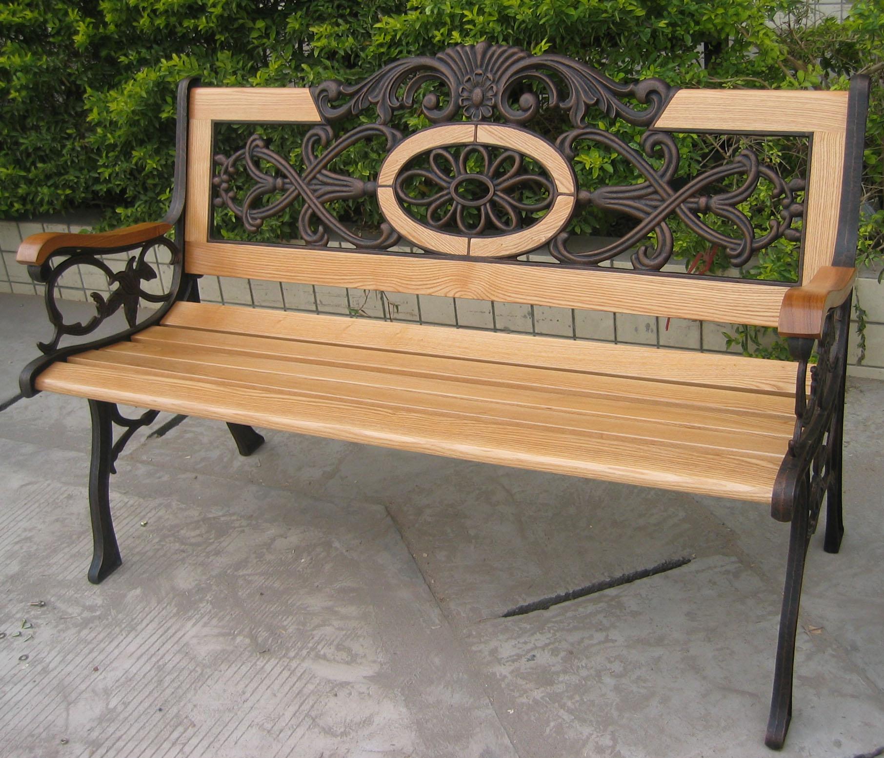 Садовая скамейка своими руками советы, примеры, фото 44