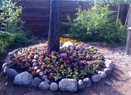 Как устроить цветы в саду как создать