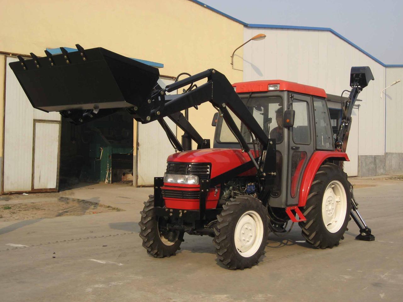 Китайский трактор своими руками