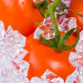 Замороженные помидоры:способы хранения овощей