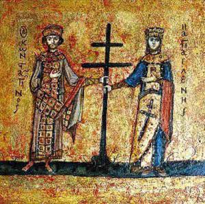 крещение киевлян Владимиром Великим