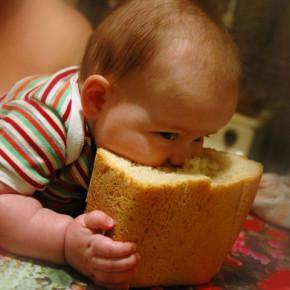Выпекание хлеба:в субботу хлеб получается наилучшим