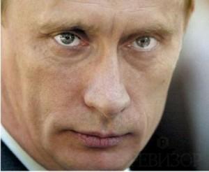 Путин нарисовал кошку сзади