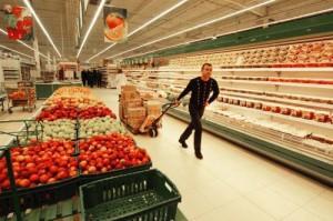 в супермаркетах стран ЕС