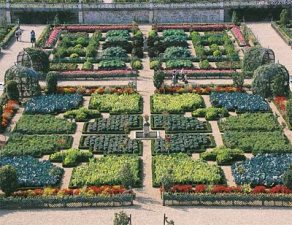 Как делать разметку для французского огорода