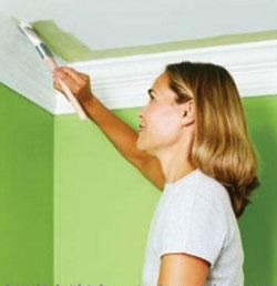 Вибираем краску для потолка