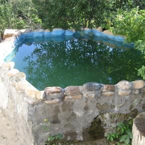Бассейн для полива:надо ли делать дно?