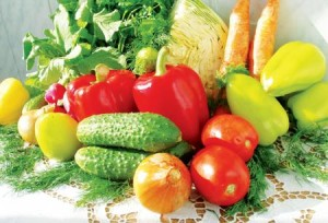 Европейские овощи