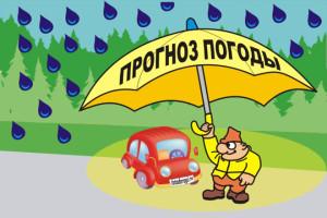 По прогнозам Укргидрометцентра