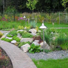 Как украсить двор:делаем дачу неповторимой