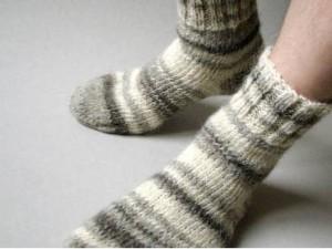 Как согреть ноги