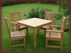 Садовая мебель  из базальтового волокна