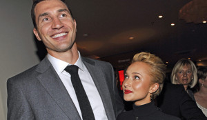 Американская актриса Хейден Панеттьер подтвердила, что обручилась с украинским боксером Владимиром Кличко
