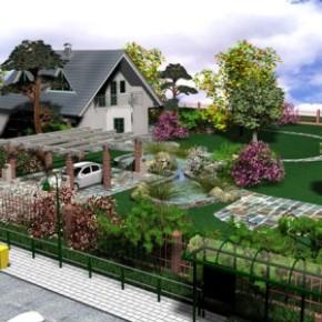 От чего зависит расположение плодового сада на приусадебном участке?