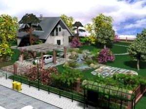 Как правильно расположить огород на приусадебном участке