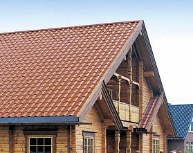 Крыша из ондулина:положительные и отрицательные качества