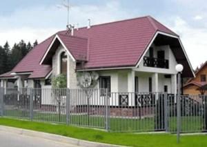 """"""" Мансардный """" тип крыши"""