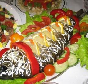 Как приготовить вкусную рыбу на Новый Год 2015