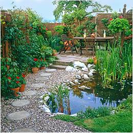 Создание садового водоема
