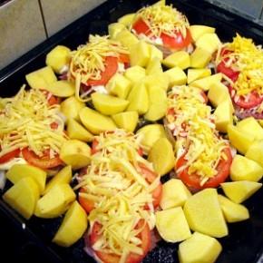 Как приготовить хрустящий жареный картофель на Новый Год 2015