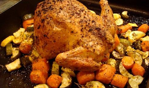 Как приготовить жареного цыпленка в американском стиле