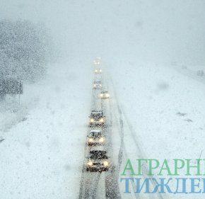 Предупреждение об осложнении погодных условий в Украине