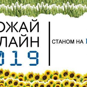 С полей собрано половину урожая подсолнечника — Урожай Онлайн 2019