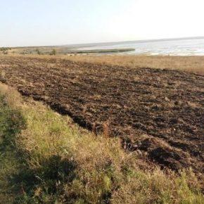 На юге Украины заповедная степь распахали