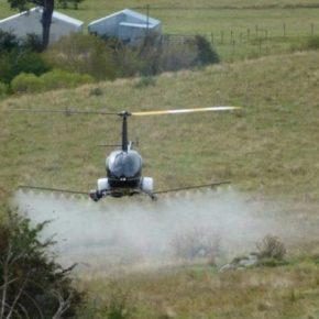 Вертолет переоборудовали в разумный дрон для точного земледелия