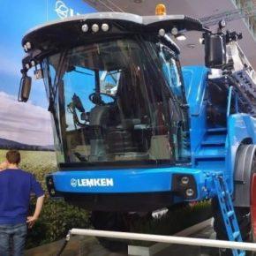 Компания Lemken представила первый самоходный опрыскиватель Nova 14
