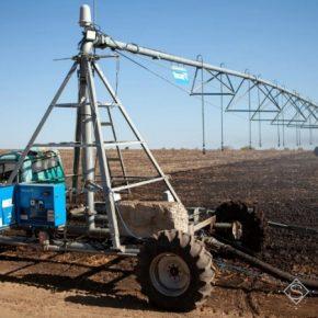 Семейное хозяйство инвестирует в современные технологии орошения на Днепропетровщине