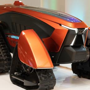 Kubota представила автономный трактор, оснащенный искусственным интеллектом