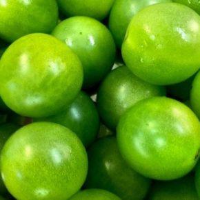 Американские селекционеры вывели зеленый сорт томатов черри