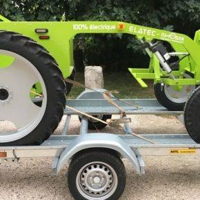 Во Франции представили робота для уничтожения сорняков