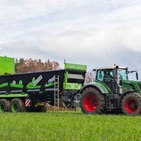 Fligel представил новую линейку вертикальных разбрасывателей удобрений