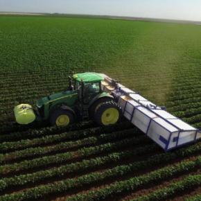 Компания Blue River разработала систему прицельного распыления гербицидов