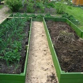 Тёплые грядки - очень ранний урожай и плодоношение до глубокой осени