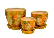 Керамические декоративные изделия  вписиваютсья в любой интерьер